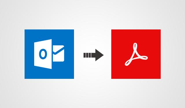 Извлечение файлов PDF из нескольких писем Outlook в один клик