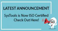 SysTools сертифицирован по ISO — стандарты 9001: 2015 и 27001: 2013