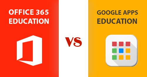 Office 365 для образования и Google Apps для образования: разница между двумя