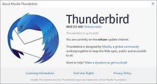 Поддержка Thunderbird End для Windows XP и Vista: уведомление об окончании срока службы