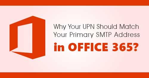Почему имя участника-пользователя должно совпадать с основным адресом SMTP в Office 365
