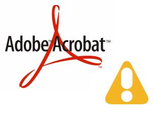 Ошибка Adobe Acrobat: этот файл использует новый формат