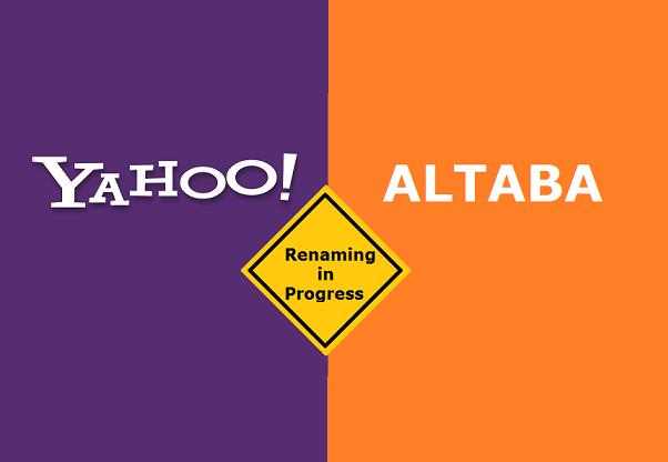 Yahoo будет присвоено новое имя