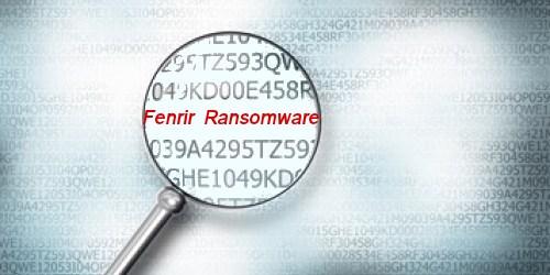 Fenrir Encryption Virus – Советы по удалению программ-вымогателей