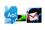 Как экспортировать контакты из AOL в Gmail?