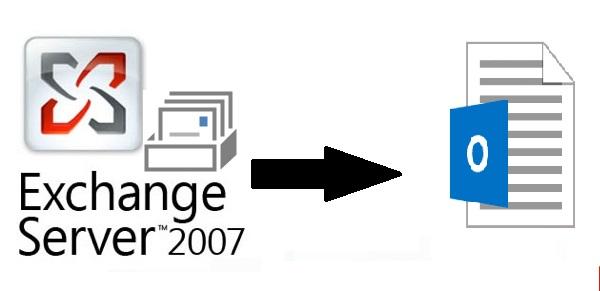Экспорт почтового ящика Exchange 2007 в формат PST