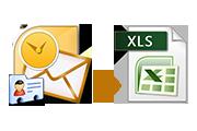 Экспорт адресов электронной почты Outlook в Excel 2016/2013/2010