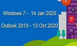 Microsoft прекращает расширенную поддержку Windows 7 и Office 2010 в 2020 году