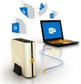 Процедура простого переноса PST на другой компьютер