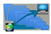 Как отправить большие файлы на другой компьютер через Интернет