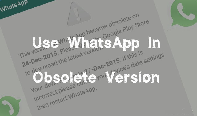 Как исправить ошибку устаревшей версии WhatsApp