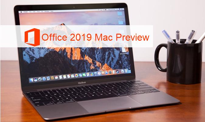 Microsoft выпускает предварительную версию Office 2019 для Mac для бизнеса