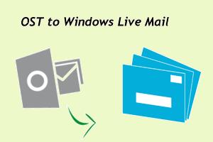 Другой ручной подход к импорту OST в почту Windows Live