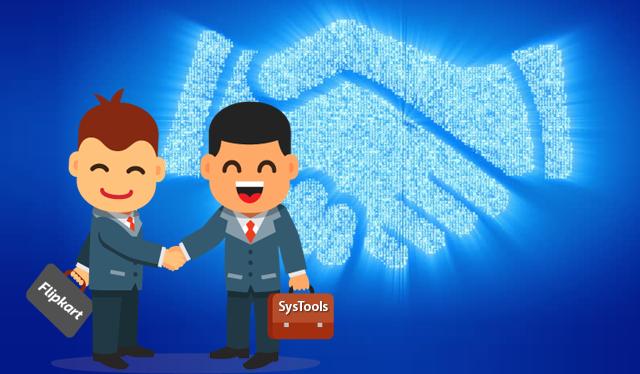 SysTools сотрудничает с Flipkart – весь ассортимент продукции теперь доступен в интернет-магазине Flipkart
