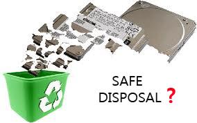 Как безопасно выбросить жесткий диск (внешний / компьютерный)