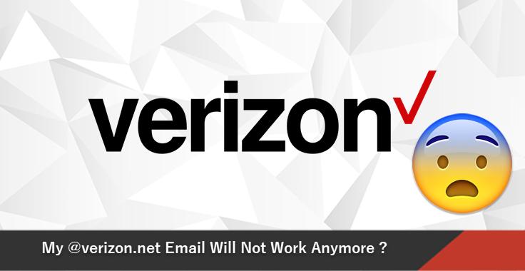 Моя электронная почта @ verizon.net больше не будет работать – правда ли это?
