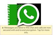 WhatsApp End to End Encryption для пользователей Android