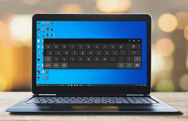 8 способов включить экранную клавиатуру в Windows 10