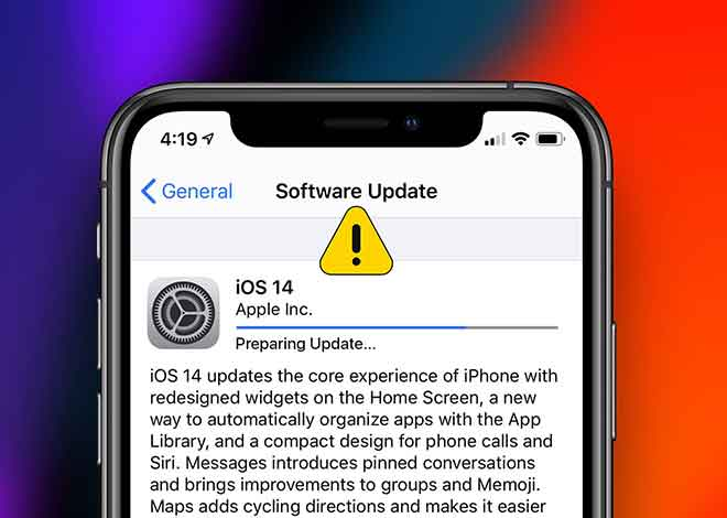 Обновление iPhone заблокировано?  13 способов решить