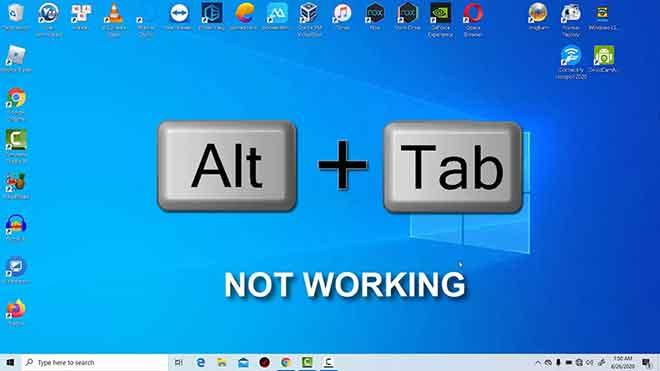 Alt Tab не работает?  13 способов решить