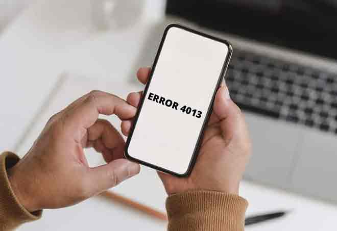 Как исправить ошибку iPhone 4013