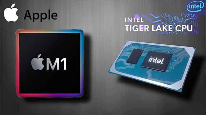 Apple M1 против Intel i7: великая битва