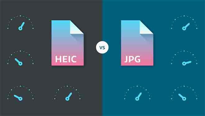 HEIC vs JPG: в чем разница