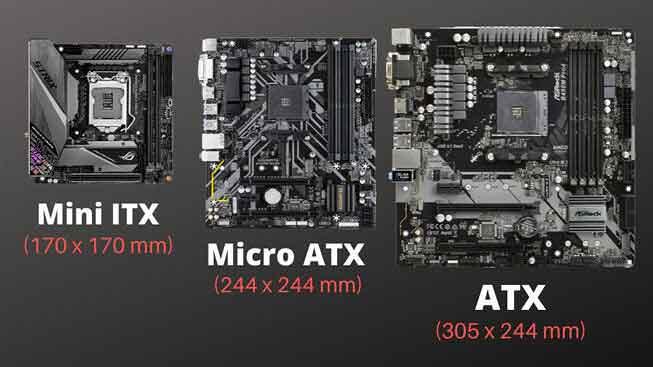 ATX против Micro-ATX против Mini-ITX: что лучше?