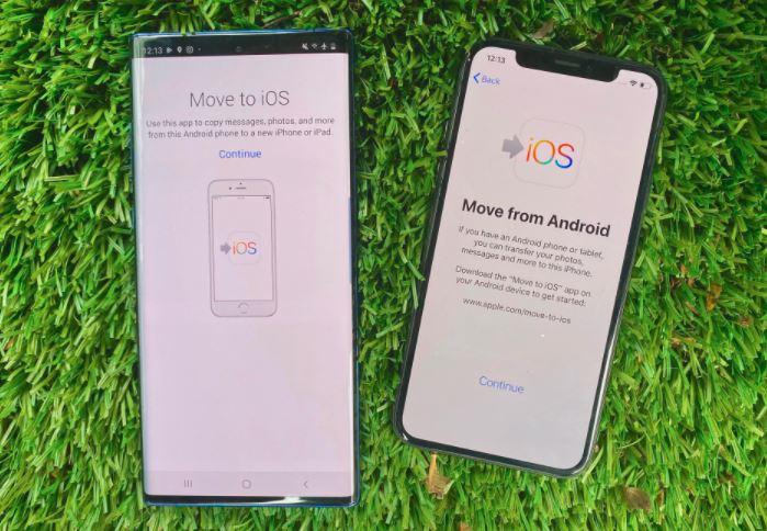 Как перенести контакты с Samsung на iPhone