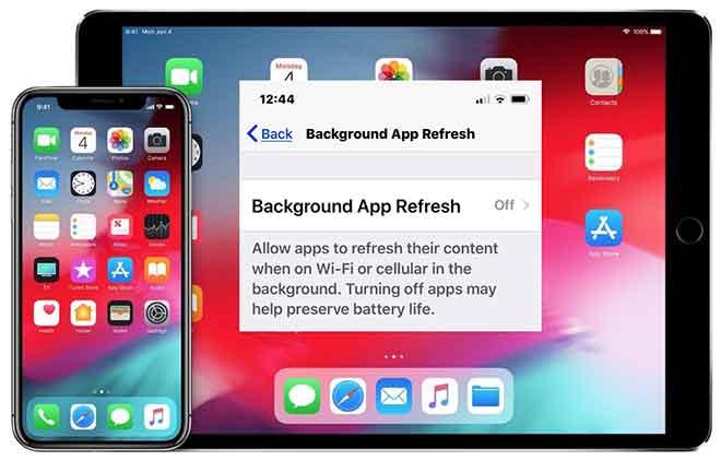 Что такое фоновое обновление приложения на iPhone?