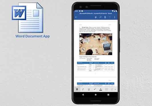 Как открыть документ Word на Android
