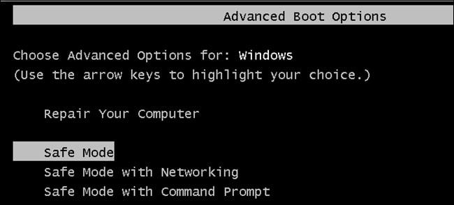 Как запустить Windows 10 или 8 в безопасном режиме