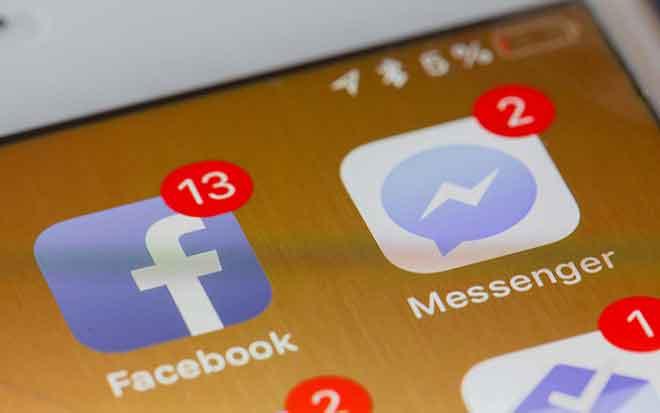 Как искать беседу или сообщение в чате Facebook