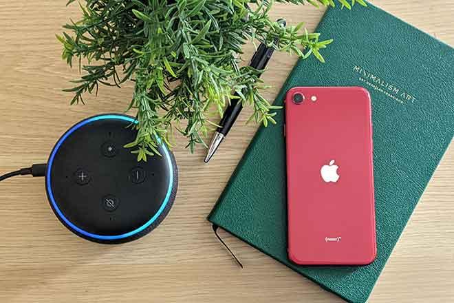 Как подключить Echo Dot к iPhone