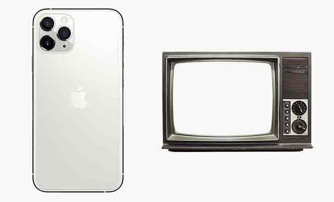 Как подключить iPhone 11 Pro Max к телевизору