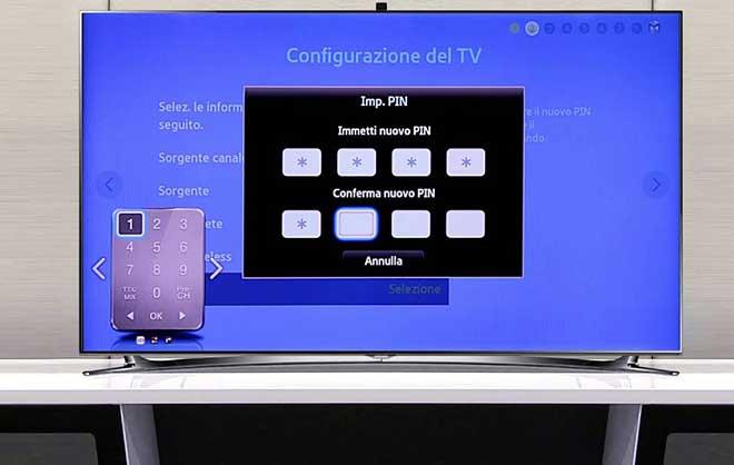 Как настроить телевизор Samsung