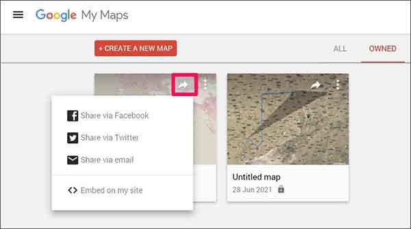 Как создать карту с несколькими контактами в Google Maps