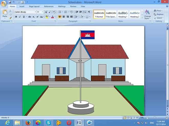 Как рисовать в Microsoft Word