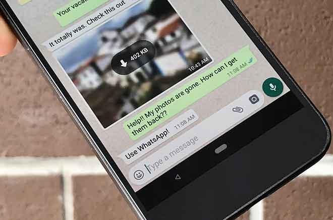 Как удалить фотографии WhatsApp с iPhone и Android