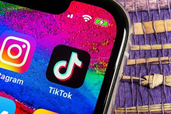 Как удалить комментарий в TikTok