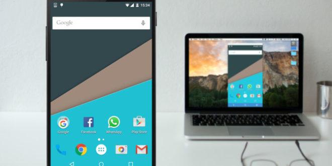 Как отразить дисплей Android на ПК