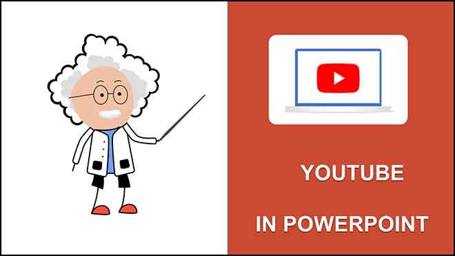 Как вставить видео с YouTube в PowerPoint