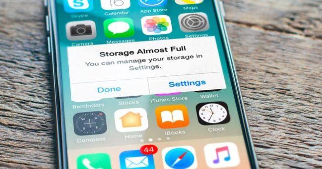 Как освободить место на iPhone, чтобы на нем были все приложения и фотографии