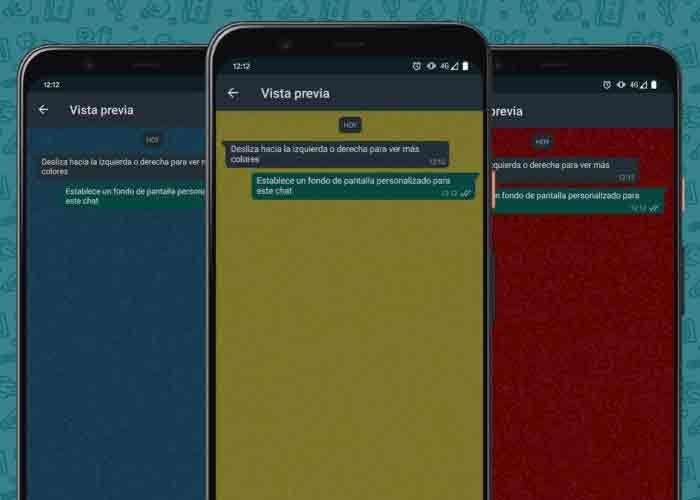 Как установить разные обои для каждого чата WhatsApp