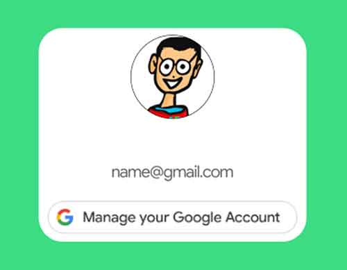 Как изменить учетную запись Google по умолчанию