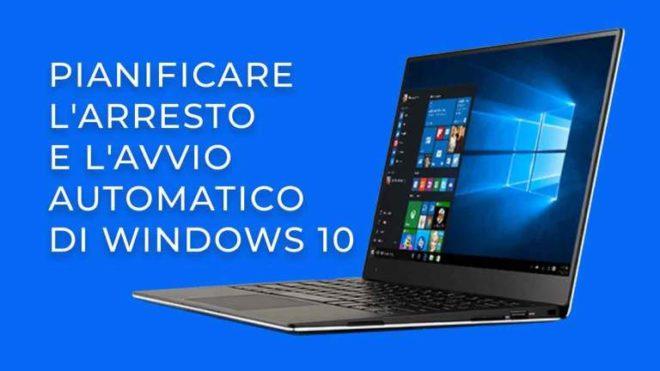 Как запланировать автоматическое выключение Windows 10