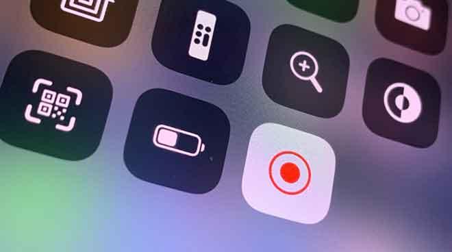 Как записать экран на iPhone