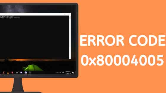 Как исправить ошибку Windows 0x80004005