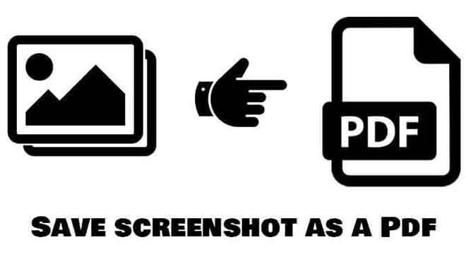 Как сохранить снимок экрана в формате PDF в Windows 10