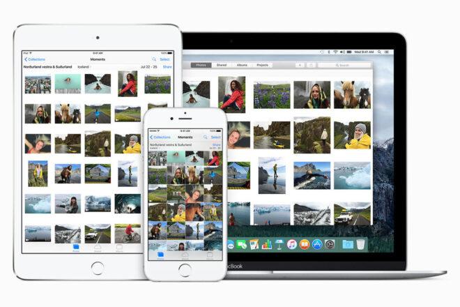 Где хранятся фотографии Apple?